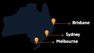 Elabor8 offices Australia: Melbourne, Sydney, Brisbane