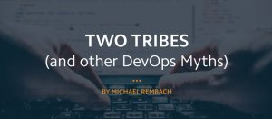 Blog header for DevOps and the myths surrounding it