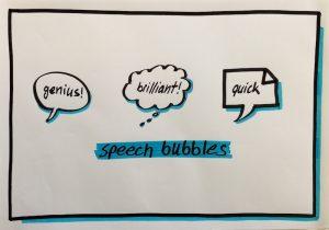 Visualisations speech bubbles
